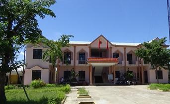 Trụ sở Đảng ủy - HĐND - UBND xã Đại Cường vừa được đầu tư xây dựng khang trang, đổi mới.