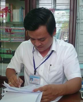 Ông Bùi Nguyễn Hồng Hải – Phó Chủ tịch UBND phường Hòa Hiệp Bắc. Ảnh: KIM THOA