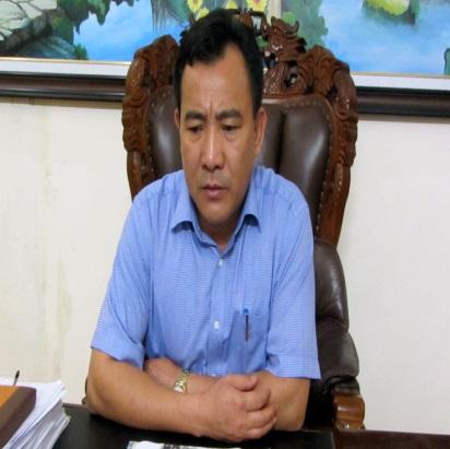 Ông Nguyễn Khánh Toàn, Tổng giám đốc Công ty TNHH một thành viên Cao su Hà Tĩnh. Ảnh: HỒ NGA
