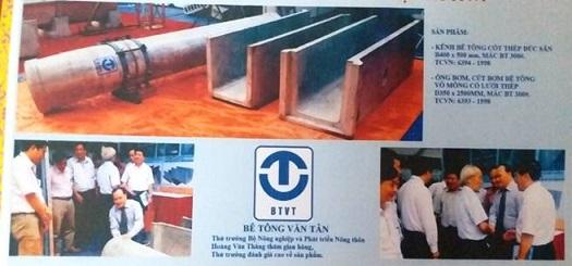 Sản phẩm Kênh mương đúc sẵn thành mỏng tham gia triển lãm năm 2014 của Công ty TNHH Cung cấp & Lắp đặt thiết bị điện (Ảnh tư liệu)