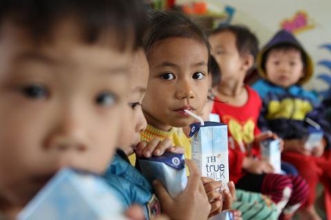 TH True Milk tiên phong đồng hành cùng chương trình Sữa học đường Quốc gia.