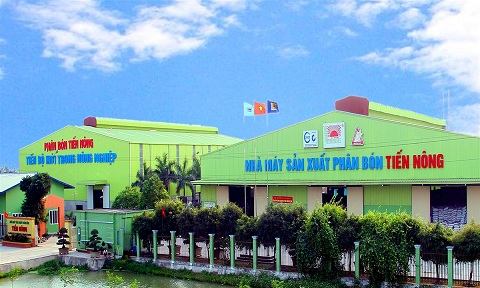 Nhà máy phân bón Tiến Nông (Thanh Hóa).